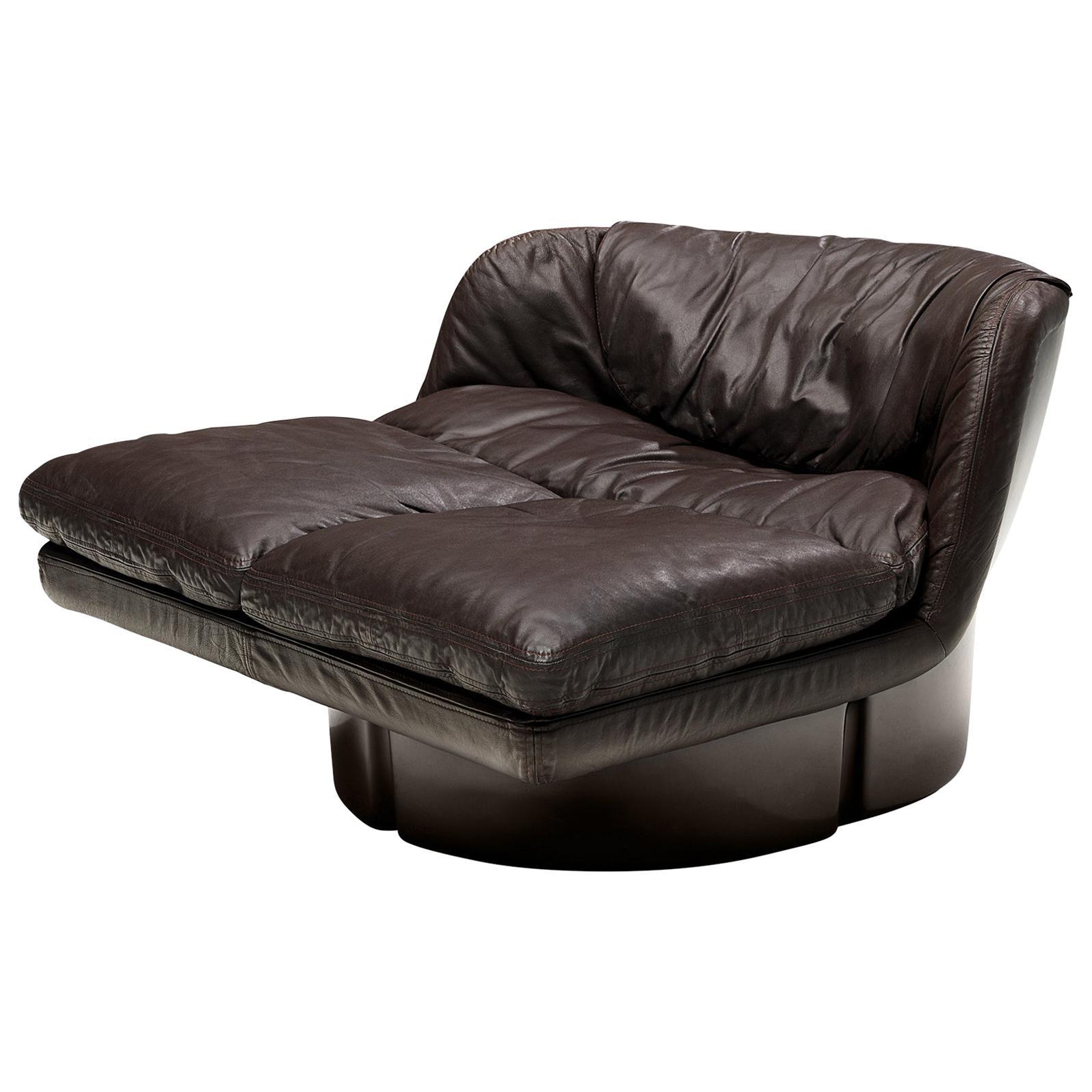 Ammannati & Vitelli Lounge Chair in Leather