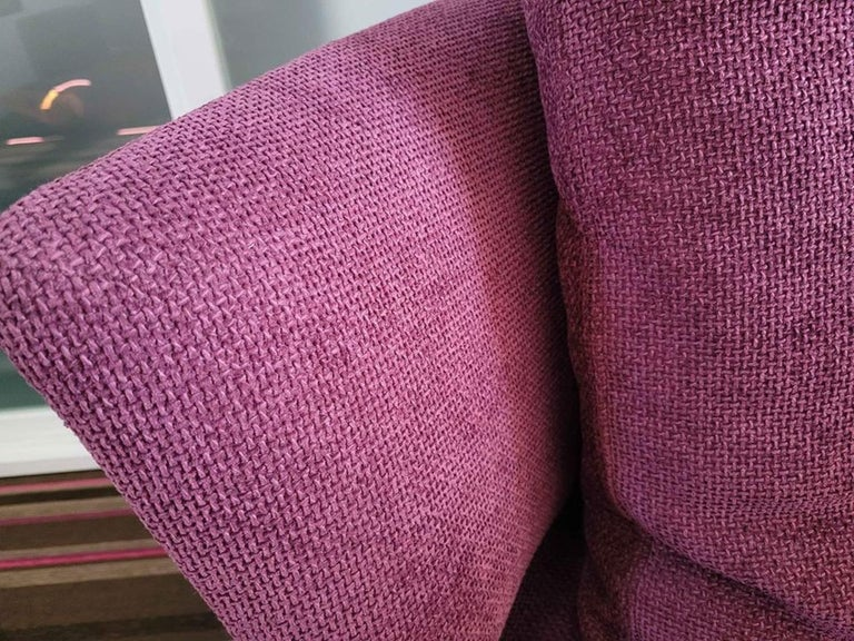 Contemporary Amoenus Circular/Swivel Sofa by Antonio Citterio for B&B Italia, 2 Available For Sale
