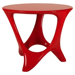 Amorph Alamos Central Table Red Lacquered