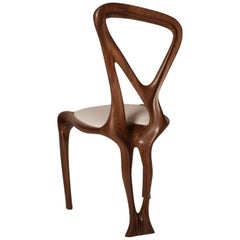 Amorph Gazelle Dining Chair, Solid Walnut, Natural Stain