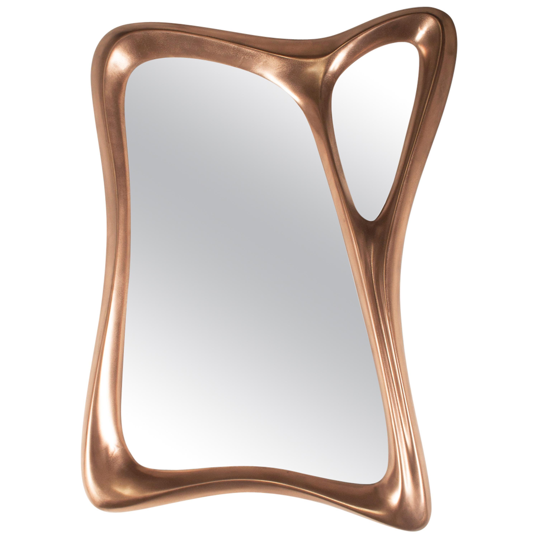Amorph Jolie Wall Mounted Mirror Bronze Finish