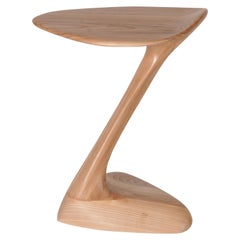 Amorph Palm Side Table, Solid Wood, Honey