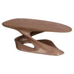 Amorph Plie Coffee Table Solid Oak Wood in Gray Oak Finish