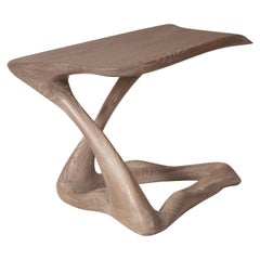 Amorph Tryst Side Table, custom Gray Finish