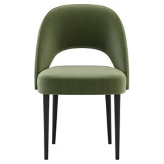 Amour Chair, Portuguese 21st Century Contemporary Upholstered with Leather