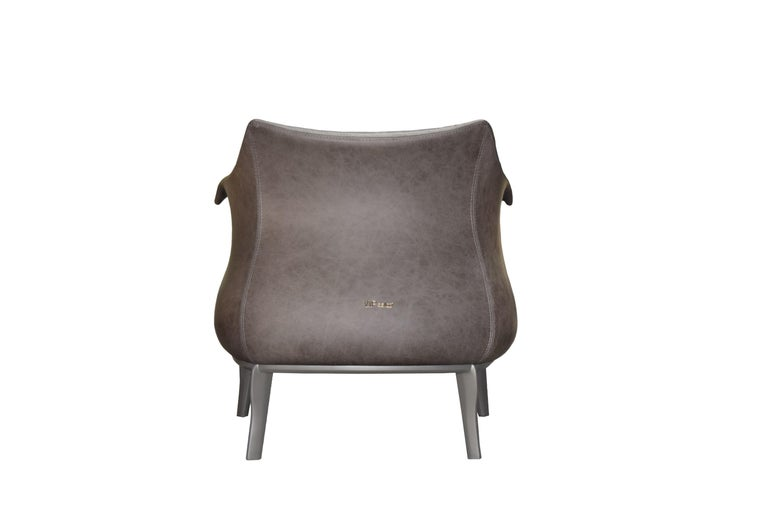 Hand-Crafted Amphora Armchair in
