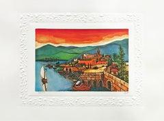 SEA OF GALILEE (JUDAICA ART)
