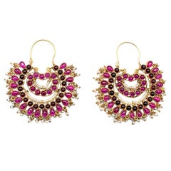 Amrapali Pearl-Cluster Embellished Earrings