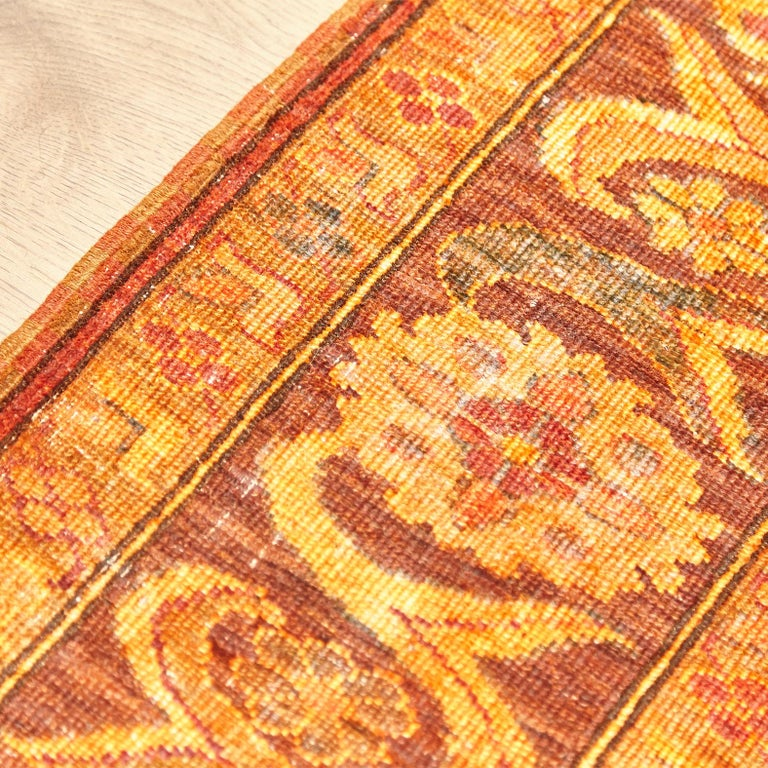 Amritsar Afghanistan Large Rug Washed, Wool Hand Knotted, circa 2000 For Sale 8