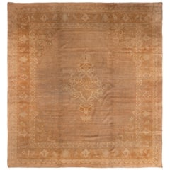 Amritsar Golden-Brown Indian Wool Rug