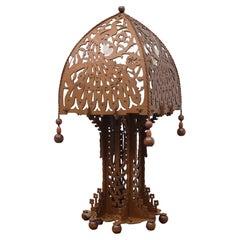 Amsterdam School Arts & Crafts, Table Lamp 1920/30 Holland
