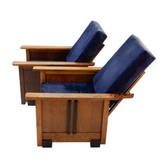 Amsterdamse School Recliner Chairs