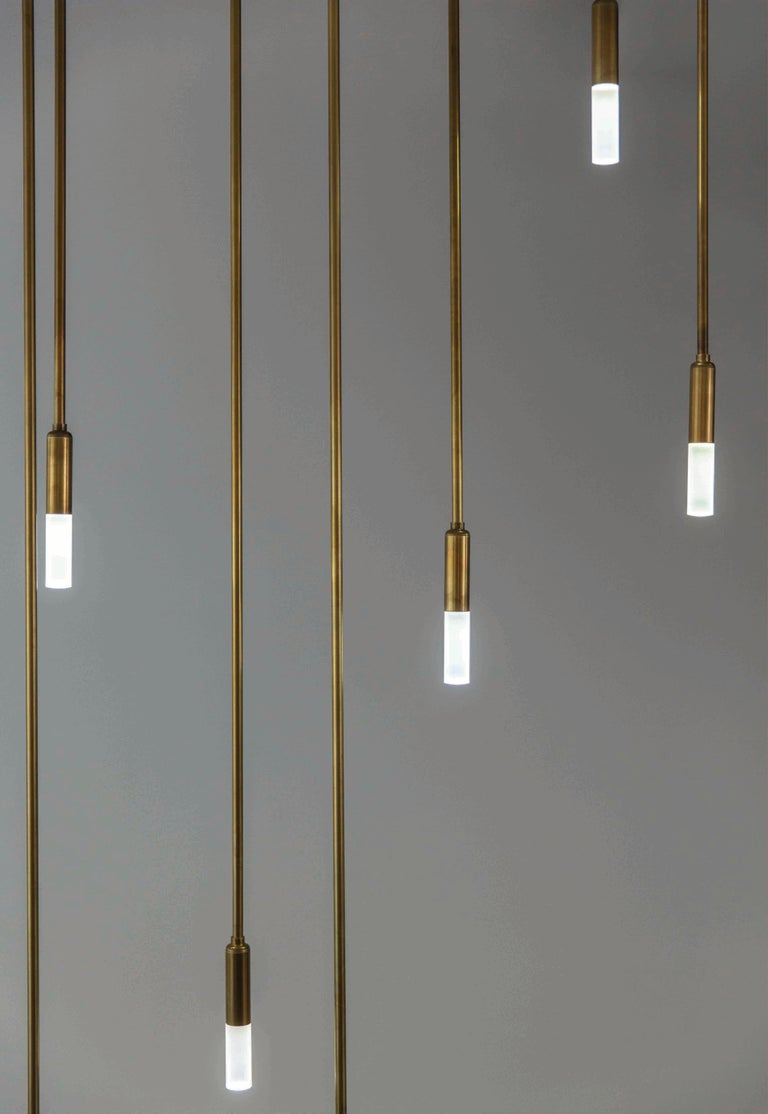 This Amuneal designed product combines precision machined components with a hand-applied finish to offer a clean and dramatic design for any space. As with all Amuneal products, the Drop Light is designed to be fully customizable by allowing our