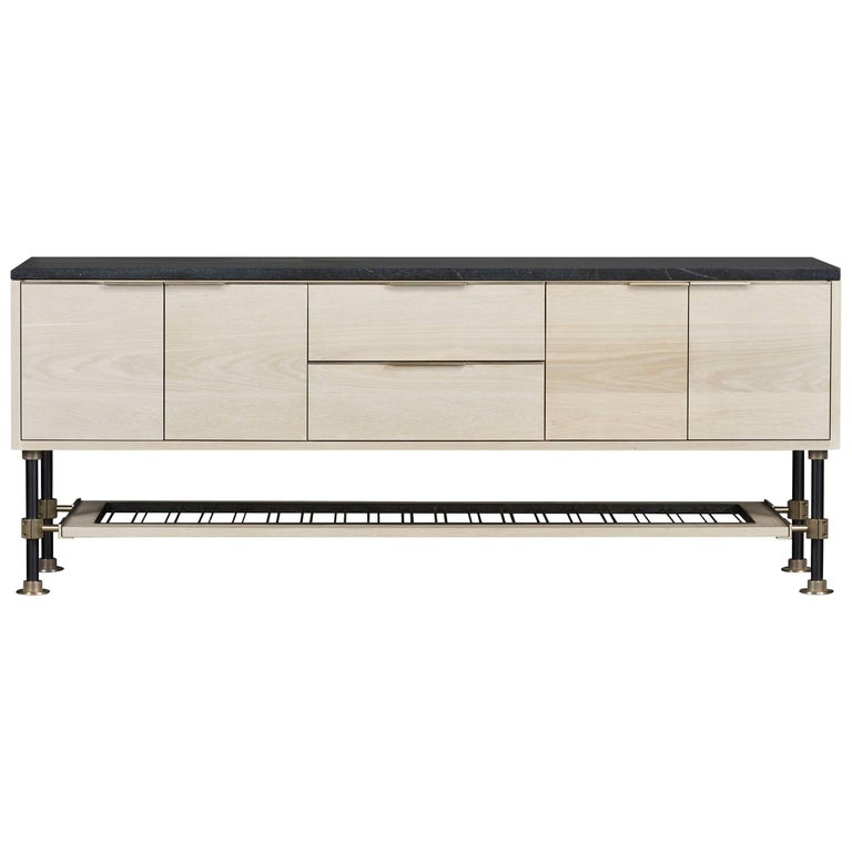 Amuneal's Loft Sideboard with Stone Top For Sale