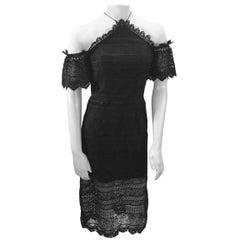 Amur Black Lace Dress