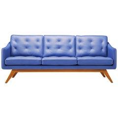 Amura 'Alvar' Sofa in Bright Blue by Luca Scacchetti