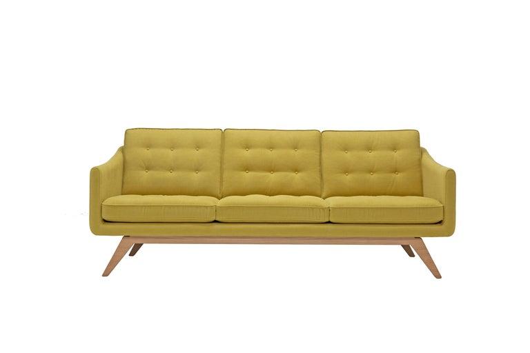 Amura 'Alvar' Sofa in Mustard Yellow by Luca Scacchetti 2