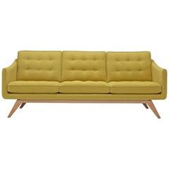 Amura 'Alvar' Sofa in Mustard Yellow by Luca Scacchetti
