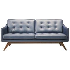Amura 'Alvar' Sofa in Navy Blue by Luca Scacchetti