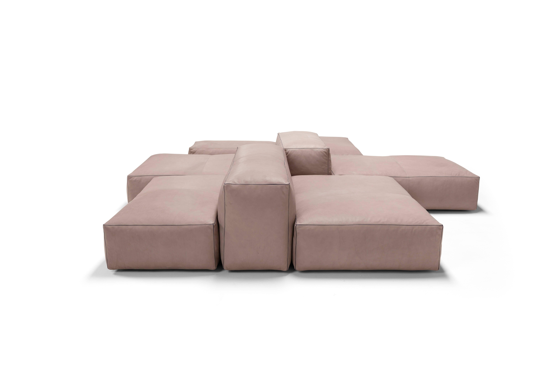 Genial Modern Amura U0027Davisu0027 Sofa And Living Set In Leather ...