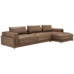 Amura Dilon Composition Sofa in Leather by Maurizo Marconato & Terry Zappa