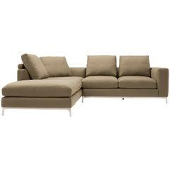 Amura 'Dorsey' Composition Sofa in Tan by Amura 'Lab
