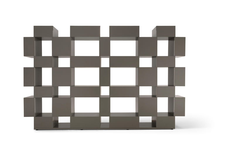 Italian Amura 'Eresia' Bookcase and Shelf by Emanuel Gargano & Anton Cristel For Sale