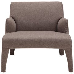 Amura 'Frida' Armchair in Brown Wool by Maurizio Marconato & Terry Zappa
