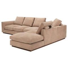 Amura 'Fripp' Composition Sofa in Light Tan by Amura 'Lab