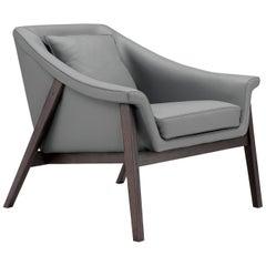 Amura 'Gaia' Armchair in Gray by Maurizio Marconato & Terry Zappa