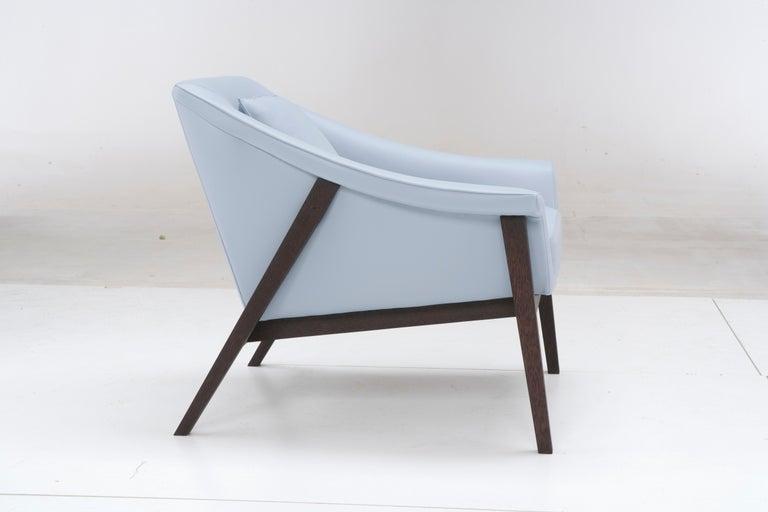 Modern Amura 'Gaia' Armchair in White by Maurizio Marconato & Terry Zappa For Sale