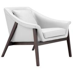 Amura 'Gaia' Armchair in White by Maurizio Marconato & Terry Zappa