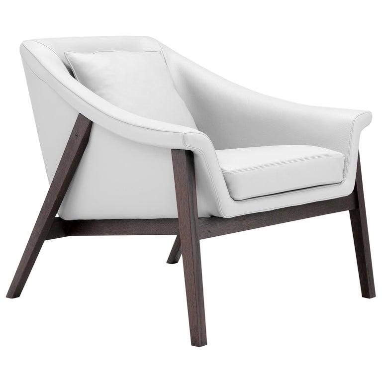 Amura 'Gaia' Armchair in White by Maurizio Marconato & Terry Zappa For Sale