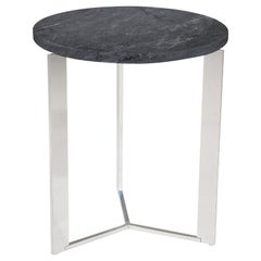 Amura Gong Round Table in Marble Top by Amura Lab