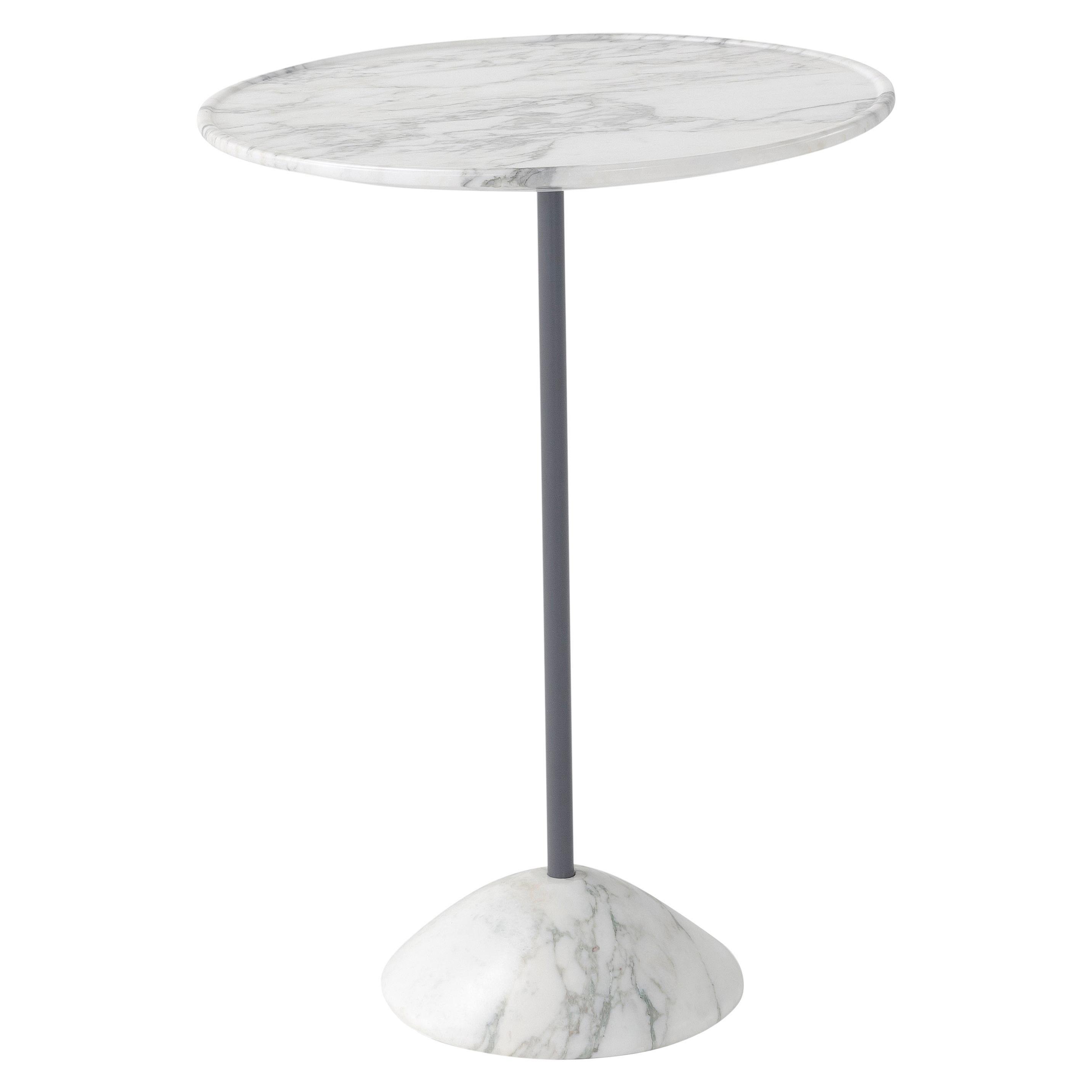 Amura Hourglass Coffee Table in Arabescato Marble by Amuralab