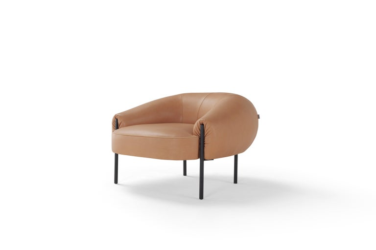 Isola is a statement-making, design-led collection consisting of a sofa, armchair and matching ottomans. The range was created in collaboration between Amura, London-based designer Lucy Kurrein and Heal's; one of the world's oldest and most