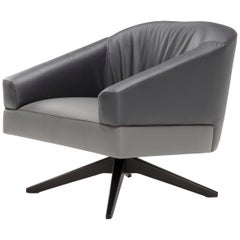 Amura 'Janne' Armchair in Gray and Charcoal by Emanuel Gargano