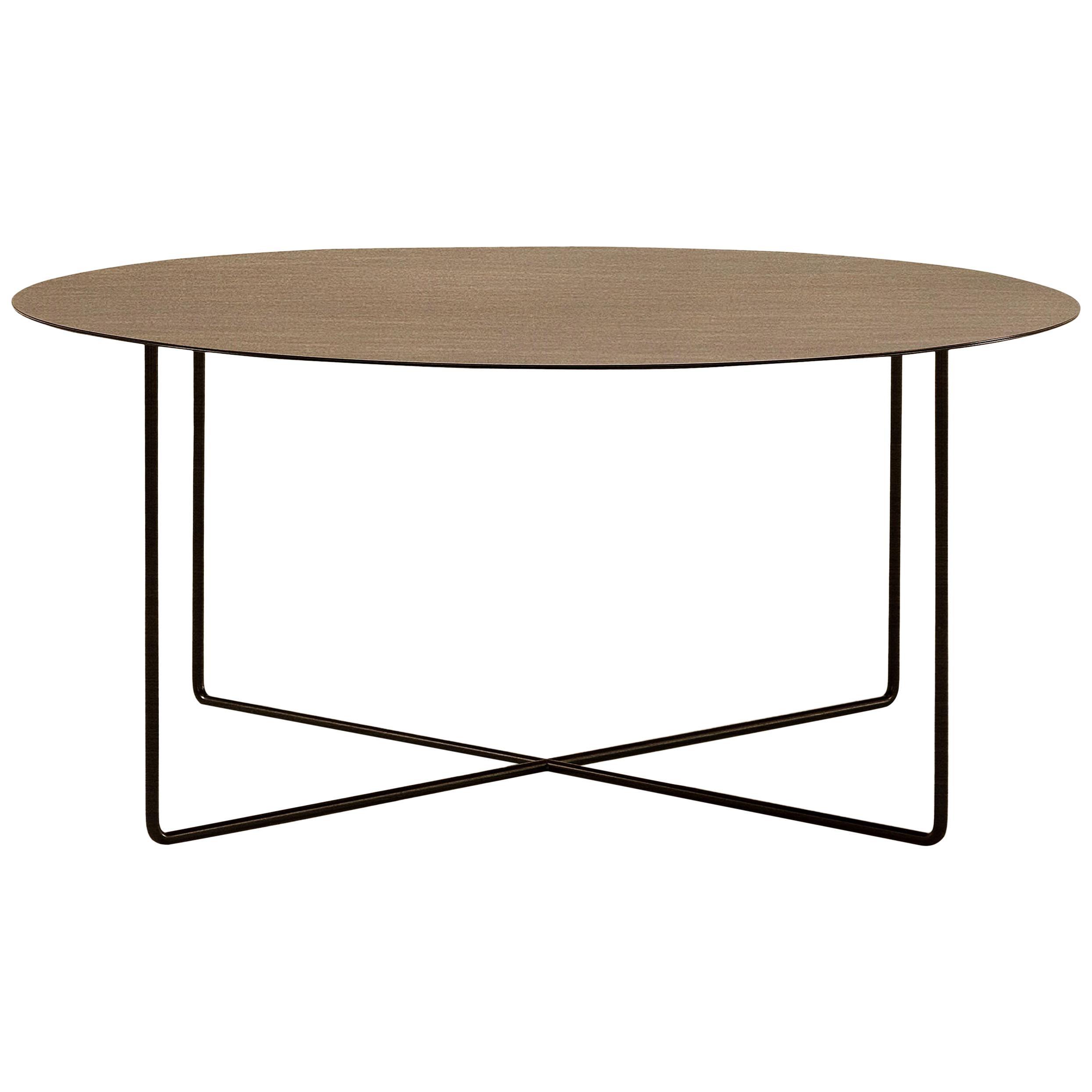 Amura Junsei Large Coffee Table in Metal by Amura Lab