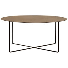 Amura Junsei Large Coffee Table in Metal by Amura Lab