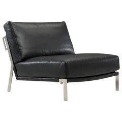 Amura 'Link' Armchair in Black by Maurizio Marconato & Terry Zappa