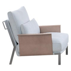 Amura Link Armchair in Fabric by Marconato & Zappa