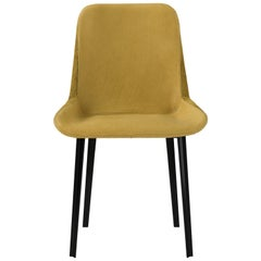 Amura 'Panis' Side Chair in Melange Leather by Emanuel Gargano & Anton Cristell