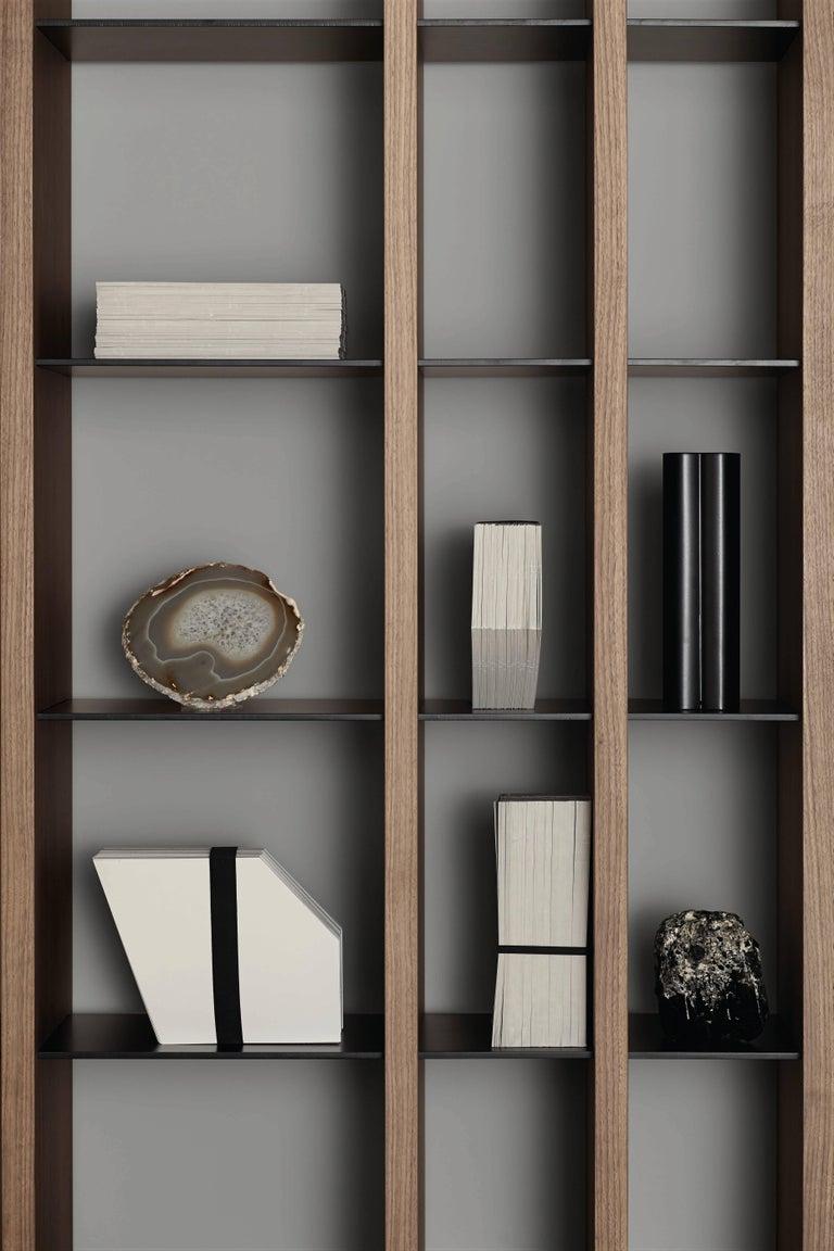 Italian Amura 'Parere' Bookshelf by Emanuel Gargano & Anton Cristel For Sale