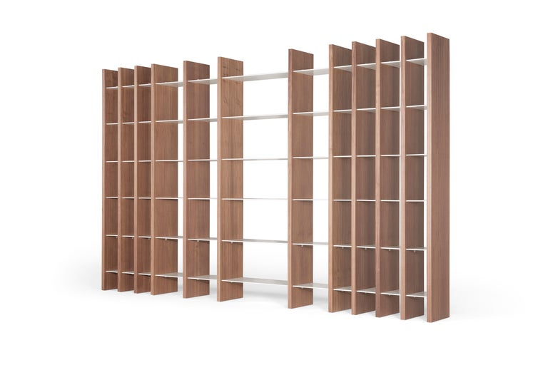 Modern Amura 'Parere' Bookshelf by Emanuel Gargano & Anton Cristel For Sale