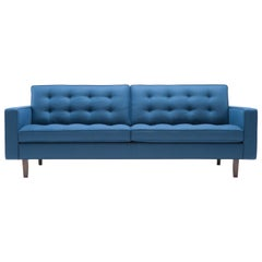 Amura 'Urano' Sofa in Blue Wool by Amura Lab