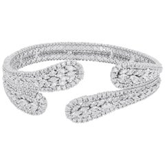 Amwaj White Gold 18 Karat Bracelet with Diamonds