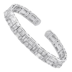 Amwaj White Gold Bracelet with Diamonds