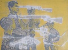 Cowboy Anthem, Painting, Acrylic on Canvas
