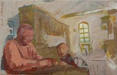 Grmpa's House, Painting, Acrylic on Canvas