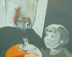 Jack Lantern, Painting, Oil on Canvas